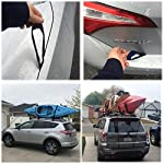 Kayak tie Down Straps Bow and Stern tie Downs Loops Strap Ratchet Rope Canoe Pulley Hanger Anchor Point Tying Kits