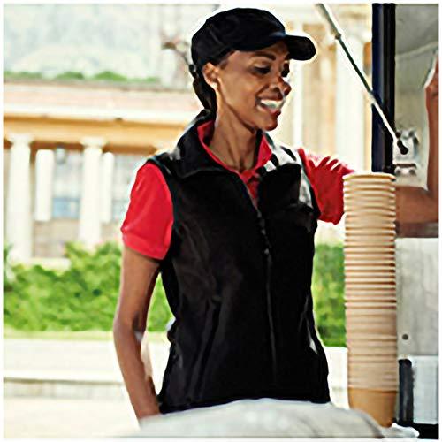 Regatta Womens/Ladies Haber II 250 Series Anti-Pill Fleece Bodywarmer/Sleeveless Jacket (20) (Black)