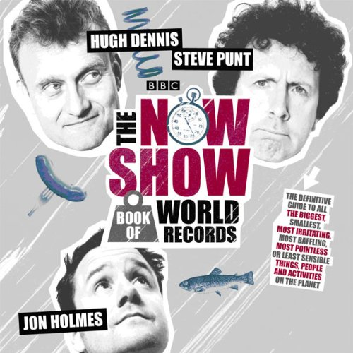 The Now Show Book of World Records cover art
