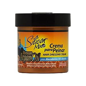 Silicon Mix Moroccan Argan Oil Hair Dressing Cream 6oz