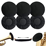 6 Pcs Music Instrument Bell Cover 5'' - Trumpets cover for Trumpet, Alto Saxophone, Bass Clarinet, Cornet Bell Cover