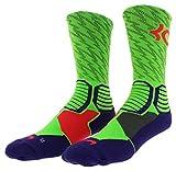 NIKE Crew Socks Hyper Elite básquetbol Multicolor Talla:Extra-Large