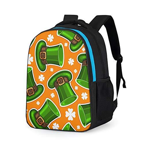 NeiBangM St Patrick's Day Elegant reisrugzak kinderrugzak meisjes jongens outdoor sport laptoptas pak voor jongeren