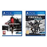 Sony Videogioco The Inpatient Playstation 4 & Videogioco Firewall Zero Hour Playstation 4
