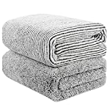 55' x 29' Oversized Bath Towels Bamboo, Microfiber Shower Towel for Body, Towel Sets for Bathroom Clearance, Super...