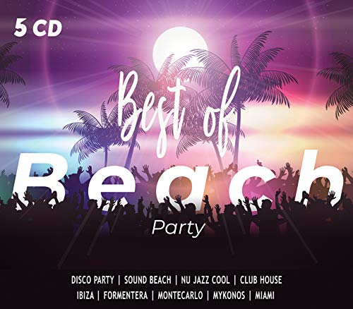5 CD Best Of Beach Party