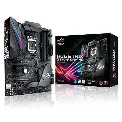 Asus ROG STRIX Z370-F Gaming Scheda Madre, LGA 1151 (Socket H4), Nero