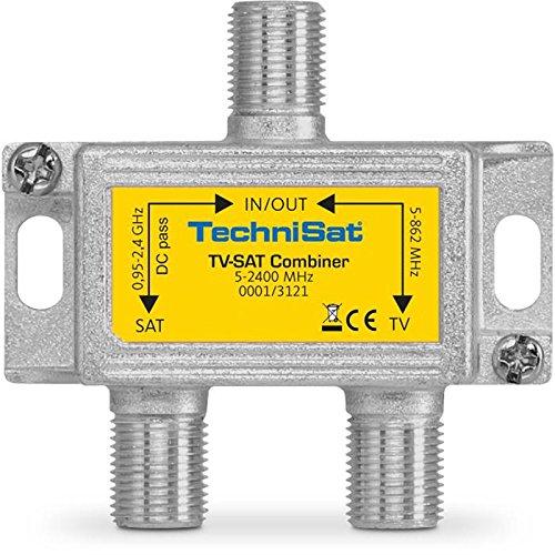 TechniSat 0001/3121 TV-Sat Combiner mit F-Anschlüssen