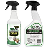 Complete Mold Killer & Remover DIY Bundle - Kill, Clean and Prevent Mold & Mildew (1-32oz RMR 86, 1-32oz RMR-141 RTU & 2 Trigger sprayers)