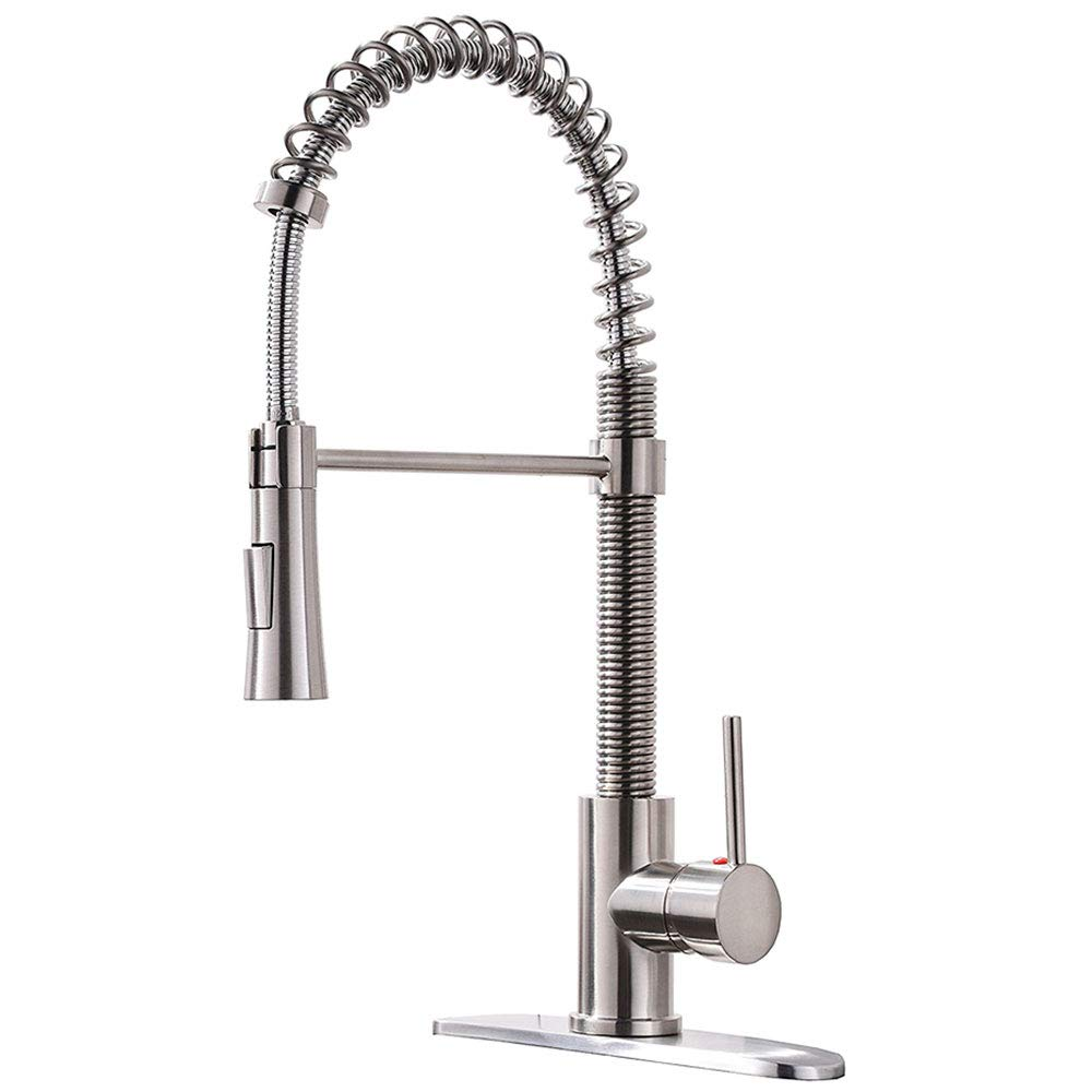 KINGO HOME Stainless Sprayer Brushed
