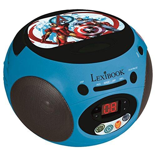 Lexibook - Rcd102av - The Avengers - Radio Lecteur Cd