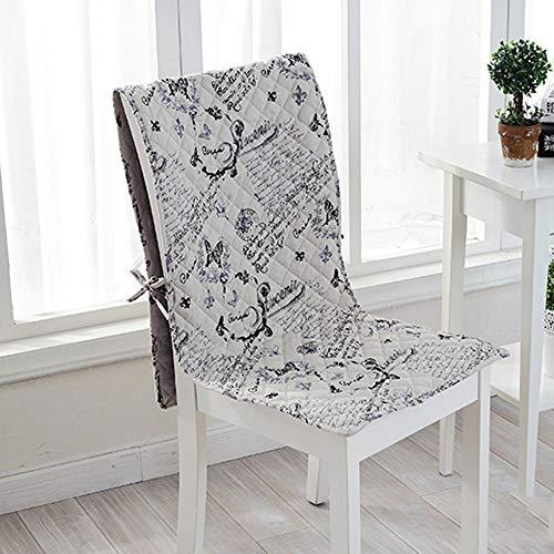 NKSS Moderne Elegantes Maschine waschbar Stuhl Kissen, Moderne gedruckte Kissen und Rückenkissen sind for den Heimbürostuhl, Autositz, Rückenkissen, Bürostuhl Küchenstuhl Gebraucht (Größe : L)