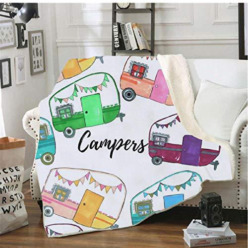 Pmhhc deken, picknick, warm, zacht, voor luiers, reizen, trein, vliegtuig, koudebestendig, model 1