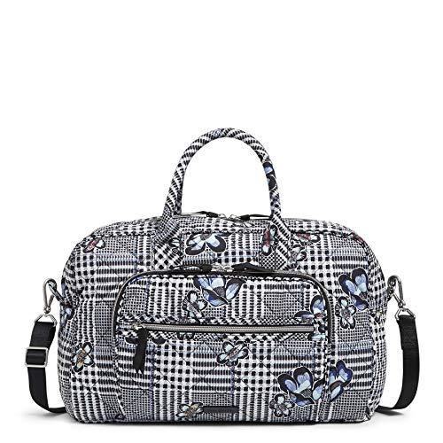 Vera Bradley Performance Twill Compact Weekender Travel Bag, Bedford Plaid