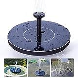 Mini Fuente de energía Solar Estanque de Piscina de jardín Panel Solar Fuente Flotante Jardín Fuente de Agua de la decoración