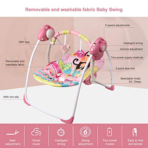 51mi3lM8gcL Best Soothing Baby Swing for Baby That Likes to Be Held 2021