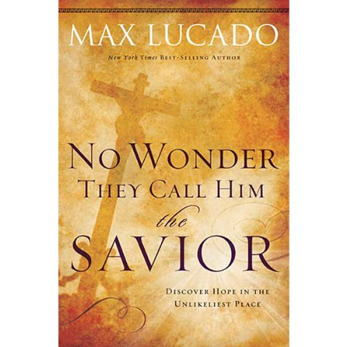 No Wonder They Call Him The Savior audiobook cover art