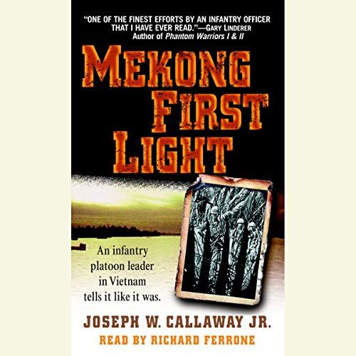 Mekong First Light audiobook cover art