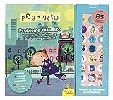 Peg + Gato. Problema resuelto: Mi primer libro de cuentos, actividades y pegatinas