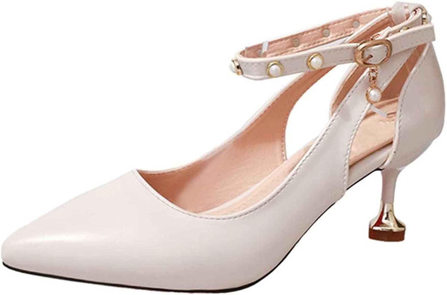 Lost Stars Pumps 3-5Cm Mid Heel Classic Sexy Pointed Toe Kitten Heels Sandals shoes Wedding Pumps