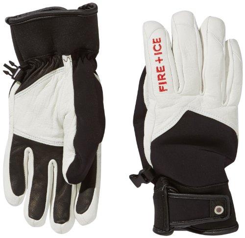 Bogner Fire + Ice Herren Handschuhe Logan, Offwhite/Black, 8