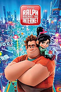 Wreck It Ralph 2: Ralph Breaks The Internet - Movie Poster (City) (Size: 24 inches x 36 inches)