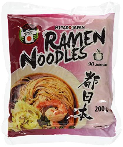 Miyako Ramen Nudeln japanisch, 12er Pack (12 x 200 g)