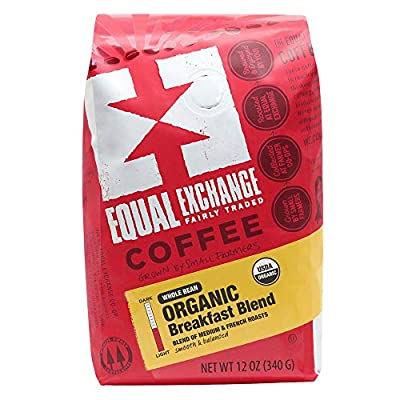 Equal Exchange Organic Whole Bean Coffee, Mind Body Soul Drip