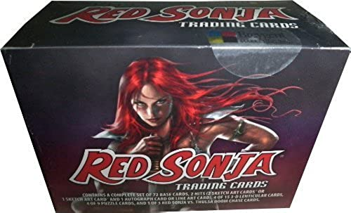rot Sonja Factory Sealed Trading Card Collectors Box by Breygent Marketing