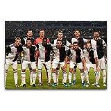 Italia ganó el campeonato, el campeón de la Liga de Fútbol, arte moderno para pared, sala de estar, dormitorio, gimnasio, decoración de 40 x 60 cm
