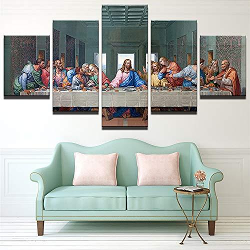 Pinturas murales Leonardo Da Vinci La última cena Jesús ap