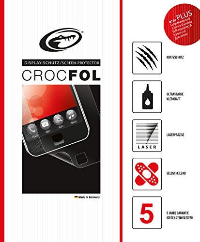 CROCFOL PLUS 5K HD Schutzfolie für das Navigon 40 Premium / Plus. Ultraklar mit selbstheilender Oberfläche (SELF-REPAIR). 3D Touch Folie für das Original Navigon 40 Premium / Plus. Hergestellt in Deutschland.