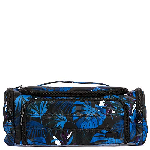 Lug Women's Trolley Cosmetic Case, Botanical Black, One Size