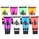 Maquillaje de pintura corporal, 10 ml, hermosos colores,