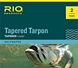 Rio Fishing Products Tapered Tarpon Leader 12FT 80LB FLUOROCARBON Shock- 4 Pack