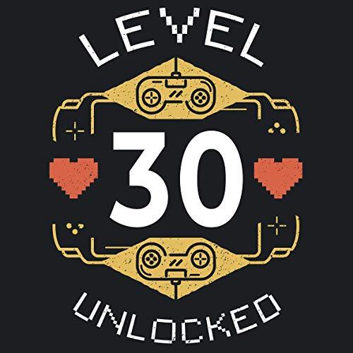 Level 30 unlocked: Cooles Geschenk zum 30. Geburtstag Geburtstagsparty Gästebuch Eintragen von...