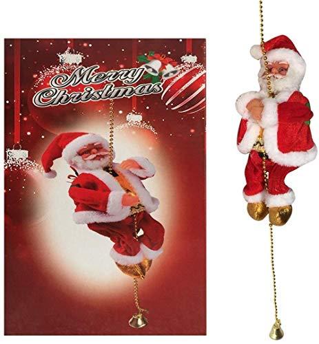 H-ei Electric Ladder Santa Claus Ornament Gift