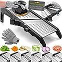 Gramercy Kitchen Adjustable Stainless Steel Mandoline Food Slicer