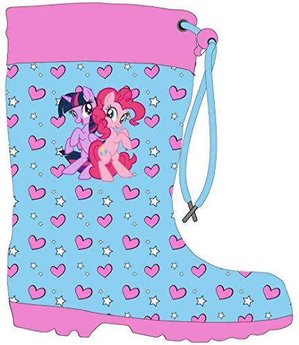 My Little Pony Gummistiefel für Mädchen, Blau - blau - Größe: 30 EU
