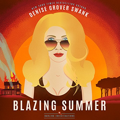 Blazing Summer audiobook cover art