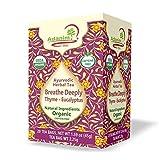 Adanim Bio Eucalyptus Thyme & Mullein Leaf Tea Bags - Organic Gourmet De-Congest Lung Health...