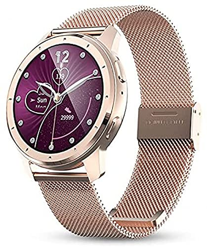 LLM 2021 Smart Watches Intelligent Fitness Tracker Smart Band Bracciale Blood Pressure Frequenza cardiaca Smartwatch per Android iOS(A)