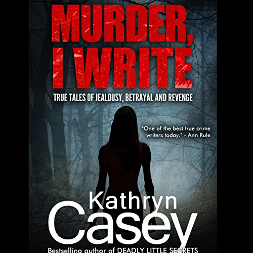 Murder, I Write audiobook cover art
