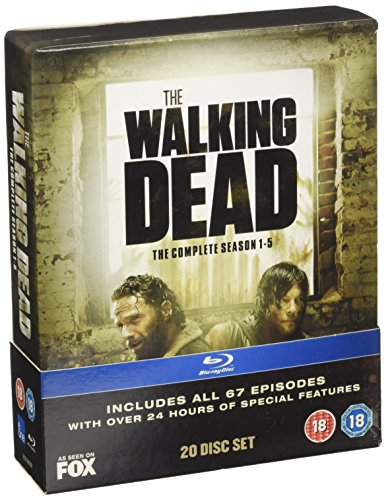 The Walking Dead: Seasons 1-5 [20 Blu-rays] [UK Import]