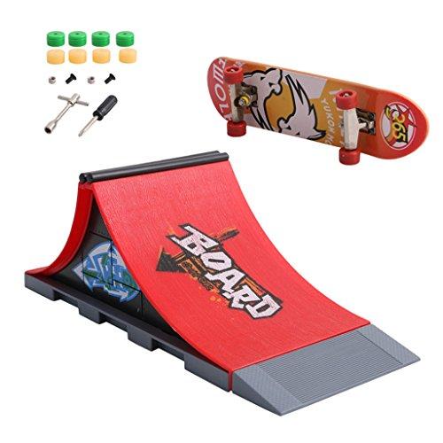 Moverstar 1 Set Skate Park Ramp Teile für Tech Deck Fingerboard Ultimate Parks