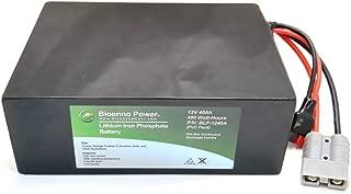 Bioenno Power 12V, 40Ah LFP LiFePO4 Lithium Iron Phosphate Battery (PVC, BLF-1240A)