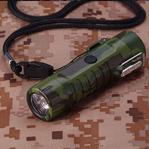 Product Image 1: Waterproof Lighter USB Plasma Lighter Rechargeable Electric Lighter Waterproof with Flashlight Flameless Lighter Windproof Arc Lighter for Outdoor Camping Hiking (Camouflage)