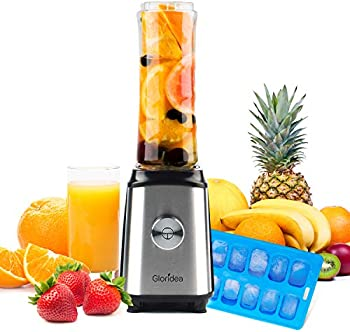 Gloridea Personal Blender for Shakes and Smoothie with 20 Oz To Go Bottle