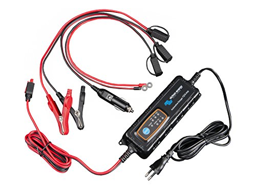 Victron Energy IP65-Batterie-Ladegerät für Fahrzeuge 12V/4A - 12V/0,8A mit DC-Stecker