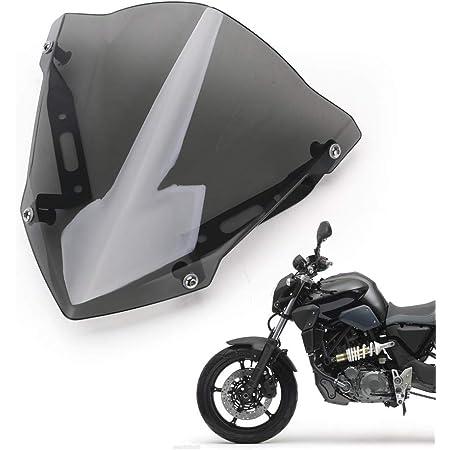 Hellogirl Motorrad Lenker Handschutz Wind Kaltschutz Windschutzscheibe Abweiser Für Yamaha Mt 07 Fz 07 2018 2019 2020 Auto